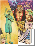 Hercules: Twilight of a God No.3 Cover: Hercules and Others Wood Print by Bob Layton