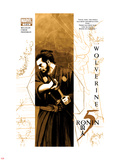 5 Ronin No.1 Cover: Wolverine with a Sword Wall Decal by David Aja