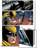 Cable & Deadpool No.43 Headshot: Wolverine Print by Ron Lim