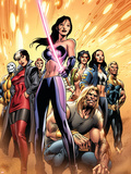 New Exiles No.8 Cover: Psylocke and Sabretooth Wall Decal by Alan Davis
