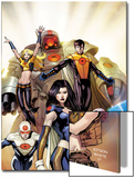 The Order No.1 Cover: Anthem, Calamity, Supernaut, Veda, Mulholland and Aralune Prints by Barry Kitson