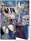 Omega: The Unknown 10 Cover: Marvel Universe Print by Farel Dalrymple