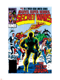 Secret Wars No.11 Cover: Dr. Doom Wall Decal by Mike Zeck