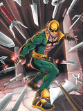 Iron Fist No.N3 Cover: Iron Fist Wall Decal by Kevin Lau