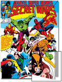 Secret Wars No.1 Cover: Captain America Prints by Mike Zeck