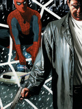 Underworld No.2 Cover: Spider-Man, Dio and Jackie Plastic Sign by Sean Scoffield