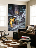 Hunger 2 Cover: Galactus, Silver Surfer, Jones, Rick Wall Mural by Adi Granov