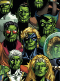 Secret Invasion: Who Do You Trust Cover: Namora Plastic Sign by Phil Jimenez