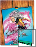 Thunderbolts No.171 Cover: A Calendar with Songbird Poster by Kev Walker