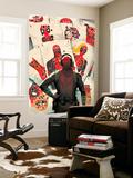 Deadpool Kills Deadpool 1 Cover: Deadpool Wall Mural by Mike Del Mundo