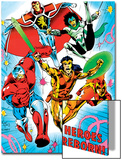 The Official Handbook Of The Marvel Universe Teams 2005 Cover: Albion Prints by Alan Davis