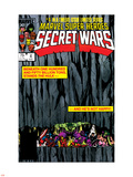 Secret Wars No.4 Cover: Hulk and Captain America Wall Decal by Bob Layton