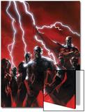 Secret Invasion No.1 Cover: Captain America Print by Gabriele DellOtto