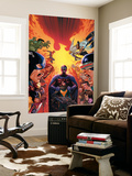 What If Avx 1 Cover: Hulk, Captain America, Iron Man, Beast, Wolverine, Hope, Magneto Wall Mural by Jorge Molina