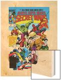 Secret Wars No.1 Cover: Captain America Art by Mike Zeck