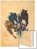 The Official Handbook Of The Marvel Universe Teams 2005 Group: Black Fox Posters by John Byrne