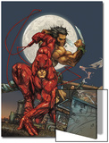 Astonishing Tales No.4 Cover: Daredevil, Wolverine and Punisher Art by Kenneth Rocafort