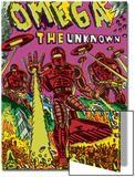 Omega: The Unknown No.7 Cover: Marvel Universe Prints by Farel Dalrymple