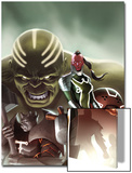 Fear Itself: The Worthy No.1 Cover: Red Skull, Juggernaut, Hulk, and Grey Gargoyle Art by Jelena Djurdjevic