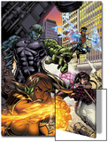 Secret Invasion: Runaways/Young Avengers No.1 Cover: Hulkling and Wiccan Prints by Michael Ryan