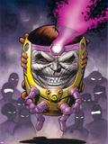 Super-Villain Team-Up/MODOKs 11 No.1 Cover: M.O.D.O.K. Fighting Plastic Sign