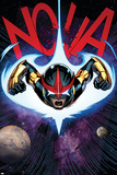 Nova 6 Cover: Nova Plastic Sign by Ed McGuinness