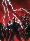 Secret Invasion No.1 Cover: Captain America Plastic Sign by Gabriele DellOtto