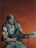 Fury Peachmaker No.2 Cover: Nick Fury Posters by Mark Texeira