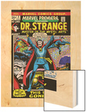 Marvel Premiere No.3 Cover: Dr. Strange Wood Print by Barry Windsor-Smith