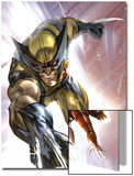 Eternals No.8 Cover: Wolverine and Ikaris Print by Eric Nguyen