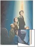 Guardians No.2 Cover: Guardians Wood Print by Casey Jones