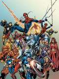 Last Hero Standing No.1 Cover: Spider-Man Wall Decal by Scott Hanna