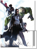 Secret Invasion No.4 Cover: Nick Fury Prints
