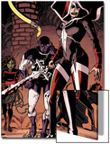 Guardians of the Galaxy No.23 Group: Martyr, Major Victory, Cosmo, Mantis and Gamora Print by Wes Craig