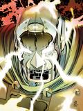 Doomwar No.6 Cover: Dr. Doom Posters by John Romita Jr.