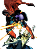 War of Kings No.2 Cover: Lilandra and Gladiator Plastic Sign by Brandon Peterson