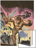 The Official Handbook Of The Marvel Universe Teams 2005 Group: Hercules Print by Gil Kane
