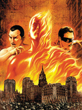 The Marvels Projects No.1 Cover: Human Torch Prints by Steve MCNiven