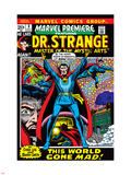 Marvel Premiere No.3 Cover: Dr. Strange Plastic Sign by Barry Windsor-Smith