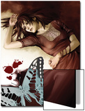 Runaways No.6 Cover: Minoru and Nico Prints by Adrian Alphona