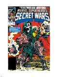 Secret Wars No.10 Cover: Dr. Doom Plastic Sign by Mike Zeck