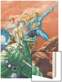 Starjammers No.1 Cover: Chod, Corsair and hepzibah Prints by Ale Garza