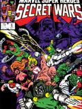 Secret Wars No.6 Cover: Dr. Doom, Absorbing Man, Lizard, Doctor Octopus, Wrecker and Ultron Art by Mike Zeck