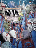 Omega: The Unknown 10 Cover: Marvel Universe Plastic Sign by Farel Dalrymple