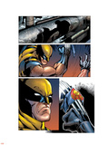 Cable & Deadpool No.43 Headshot: Wolverine Plastic Sign by Ron Lim