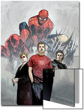 Powerless No.1 Cover: Spider-Man, Peter Parker, Wolverine, Daredevil, Matt Murdock and Logan Prints by Michael Gaydos