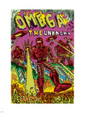 Omega: The Unknown No.7 Cover: Marvel Universe Plastic Sign by Farel Dalrymple