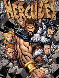 Incredible Hercules No.113 Cover: Hercules Plastic Sign by Arthur Adams