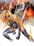 Ms. Marvel No.27 Cover: Ms. Marvel Plastic Sign