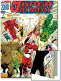 Soviet Super Soldiers 1 Cover: Red Guardian Prints by Angel Medina
